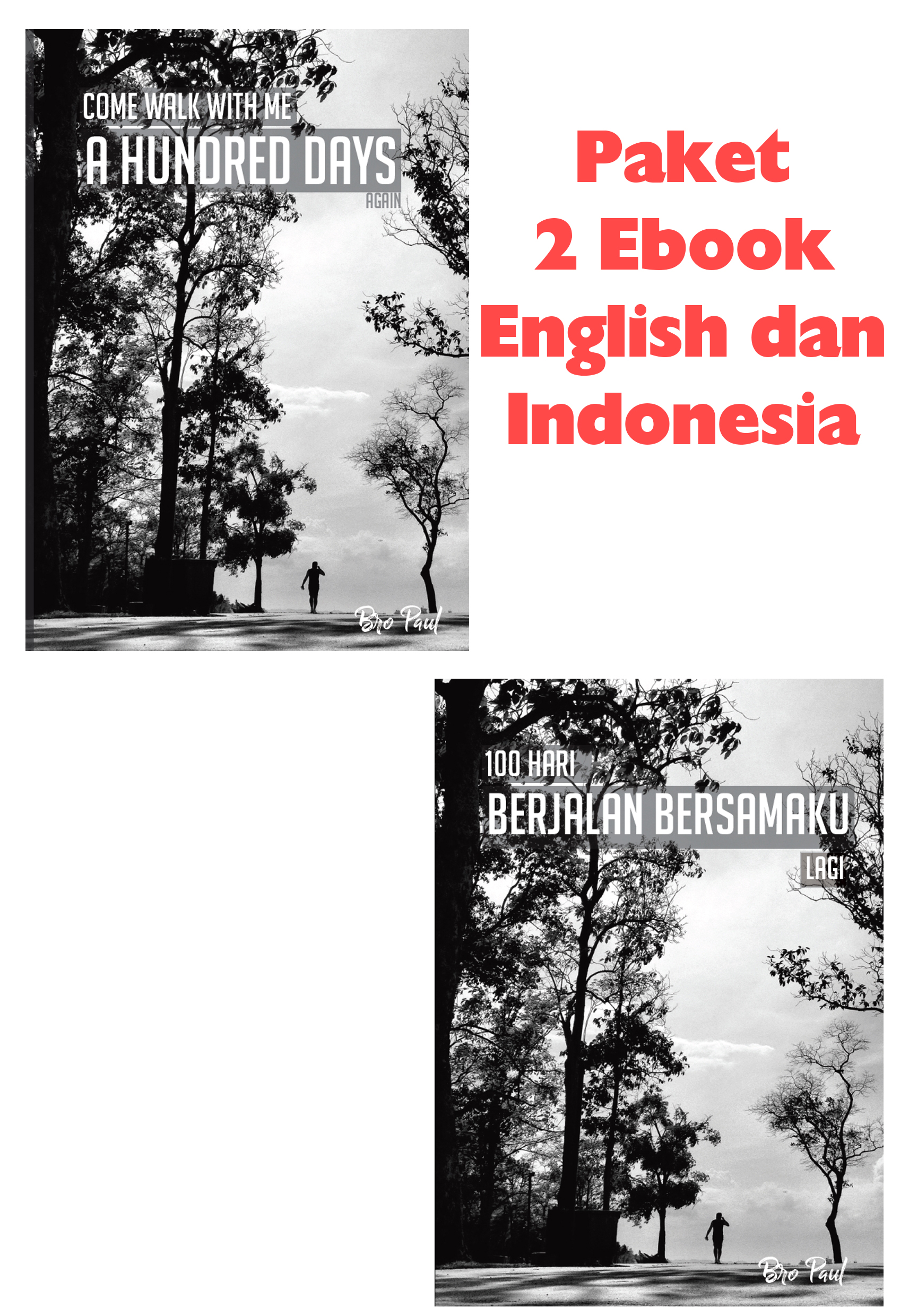 Paket 2 Ebook Paul Loh English dan Indonesia